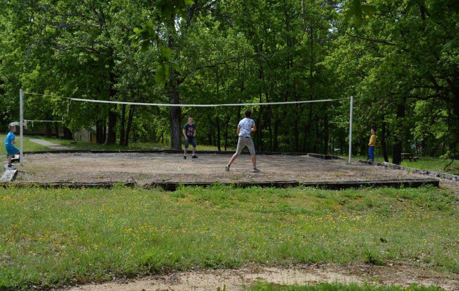 terrain volley