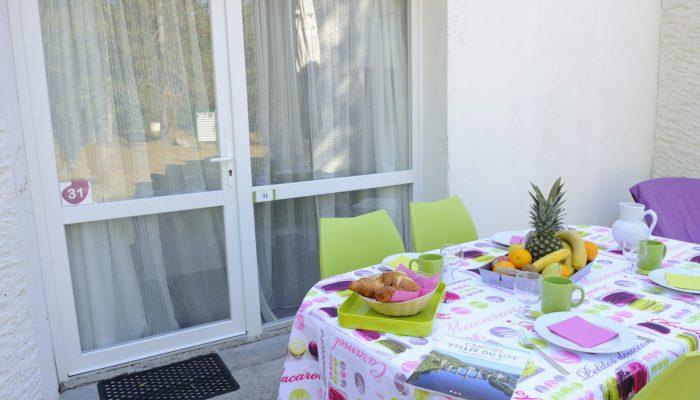 maisonnette terrasse